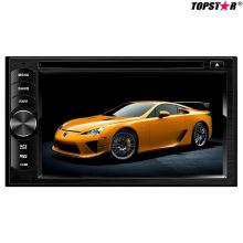 6.2inch doble DIN 2DIN coche reproductor de DVD con sistema de Wince Ts-2003-2