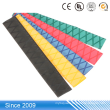 Colored Flame Retardant Non Slip Heat Shrink Plastic Tube