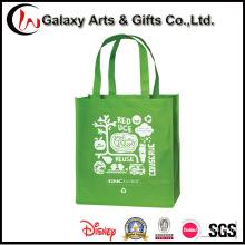 Bolsa de reciclaje reutilizable de la promoción de compras no tejida