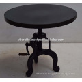 industrial crank side table