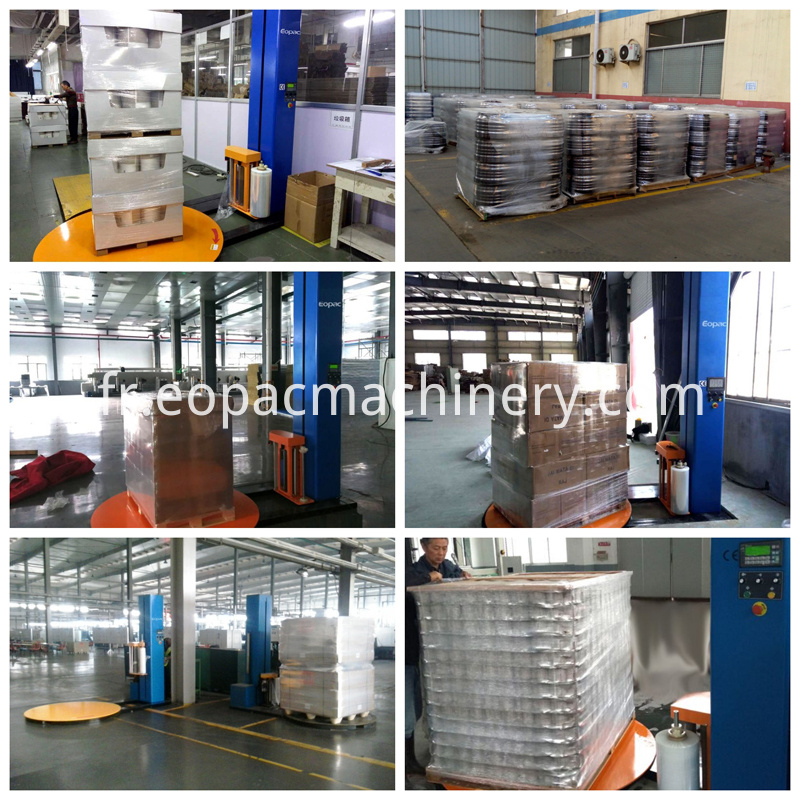 Pallet Turntable Stretch Film Wrapping Machine