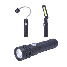 Multifunction 3 In 1 Working Magnetic Led Flashlight