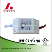 caja de plástico IP20 corriente constante 350ma 500ma 6w mini led conductor