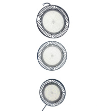 SABER 90LM/W 100W LED High Bay Light UFO Lighting and Circuitry Design Warehouse IP65 CE Ross 2700-6500K AC85-265V Epistar SMD