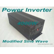 Onduleurs à puissance sinusoïdale modifiée de 4000 watts / inverseurs de puissance de voiture