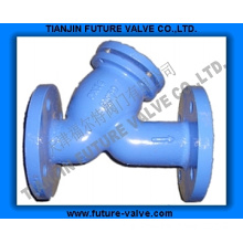 PN16 Cast Iron Flanged Y Strainer / Filter (GL41H-16)