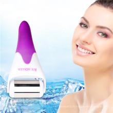 Rouleau de glace de refroidissement de peau de gel en acier inoxydable pour la protection de la peau