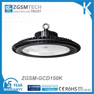 Éclairage commercial de haute baie de 150W UFO LED