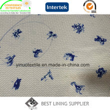 100% Polyester Lovely Animal Pattern Print Lining with High Quality