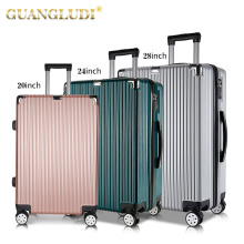 8# zip durable materials travel bag set luggage