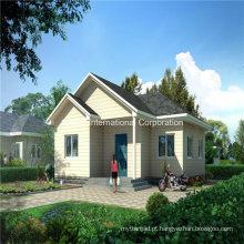 Casa de aço clara pré-fabricada econômica e de poupança de energia