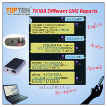 GPS Tracker with Fuel Monitor, Ce Certification, Factory Price (TK108-KW)