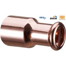 Reducing Coupler FF Copper Press