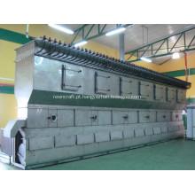 Máquinas para secar a seco de fluido horizontal de resina