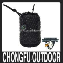 2016 nuevos populares de nylon populares paracord al aire libre de supervivencia de emergencia kits de herramientas de camping equipo de camping al por mayor