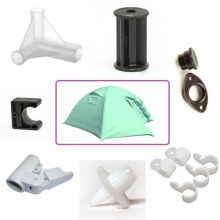 Custom Made Plastic Injection Tent Parts