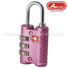 Zinc Alloy Tsa Combination Padlock (515)