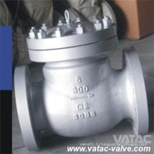 BS1868 скрепленные болтами крышки дюймов и классом давления cl150&300# служило фланцем задерживающий Клапан качания