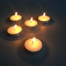 Быстрая отгрузка бездымных декоративных чайных свечей