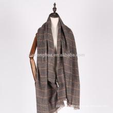 Großhandel indische Wolle Schals mit Stickerei