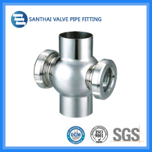 Saniatry Stainless Steel Union-Type Sight Glass