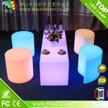 Table de cube de LED (BCR-127C)