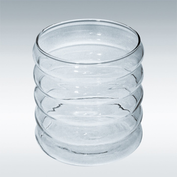 Glass Candle Jar for Candle/Wax Factory (A-1161)
