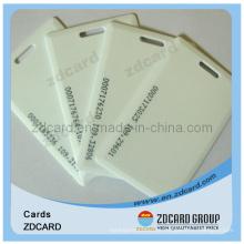 Cartão sem contato em branco / cartão vazio / cartão de identificação PVC