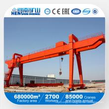 Double Girder Rail Mounted Gantry Crane 50 Ton