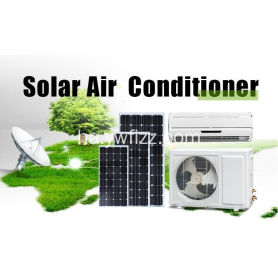 Hydid Solar Air Conditioning