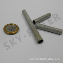 Stainless Steel Welding Edge Woven Wire Mesh Filter Screen Tubes