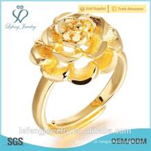 Atacado preço indian traje jóias 18K banhado a ouro anel de casamento
