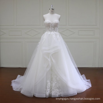 Sleeveless Sweetheart Mermaid Bridal Gown (XF16019)