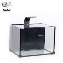 Aquário tanque de peixes de estilo simples para plantas de vidro