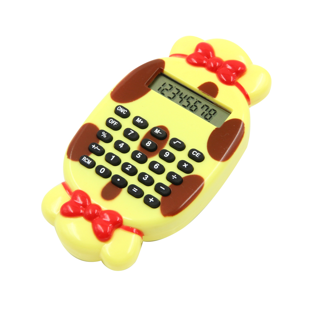 8 chiffres Cute Candy Shape Calculator for Kids