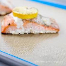 Custom Food Grade Heat Resistant Non-stick Teflon Silicone Baking Mat