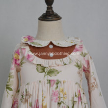 Fancy Baby Autumn Ruffled Sleeve Dress