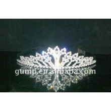 rhinestone crystal wedding tiaras