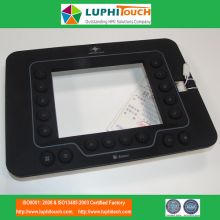 Backlight Rubber Keypad Logam Backer PCB Papan Kekunci Litar