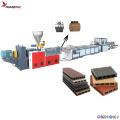 WPC Flooring Board Plastic Profile Extrusion Line