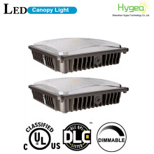 45W Slim Gas station LED Canopy Light Fixture