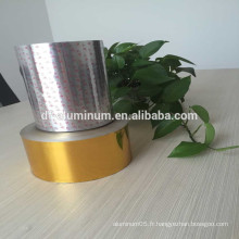 Lingette en aluminium imprimée de qualité avec laque PP / PS pour gobelets à yaourt