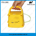 Rechargeable Solar Power Camping Radio Lantern with Mobile Phone Solar Charger