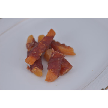 Yummy Air-dried Duck Wrapped Sweet Potatoes Alimentos para cães