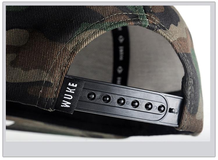 Camouflage hip-hop hat baseball hat man (10)