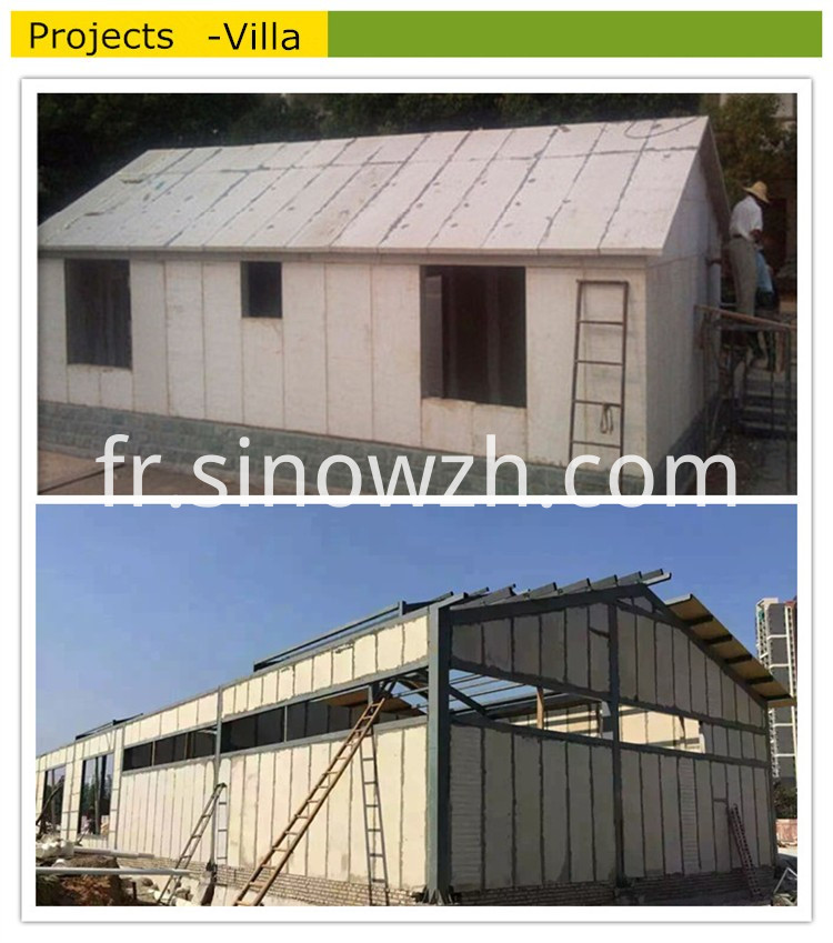 Foam Cement Board House
