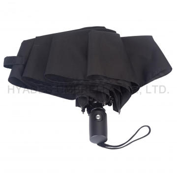 Wholesale Black Auto Buka dan Tutup Folding Umbrella