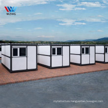 Belgium Large cabin cartoon prefab commercial kitchen kitchen 20ft container home pre manufactured