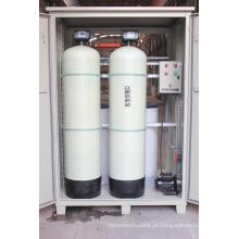 Filtro do emoliente de água do tanque da resina de FRP para remover a dureza da água