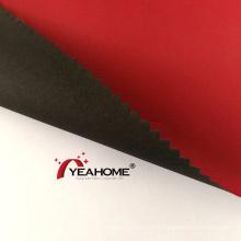 Tissu Oxford de revêtement PU noir pour produits d'extérieur
